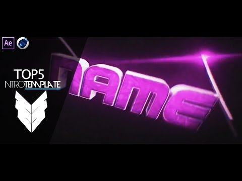 TOP 5 Intro Template #19 Cinema4D,After Effects CS4 + Free Download