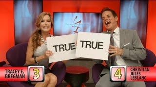 The Young and The Restless - Y&R Co-Star Quiz: Tracey E. Bregman vs. Christian LeBlanc