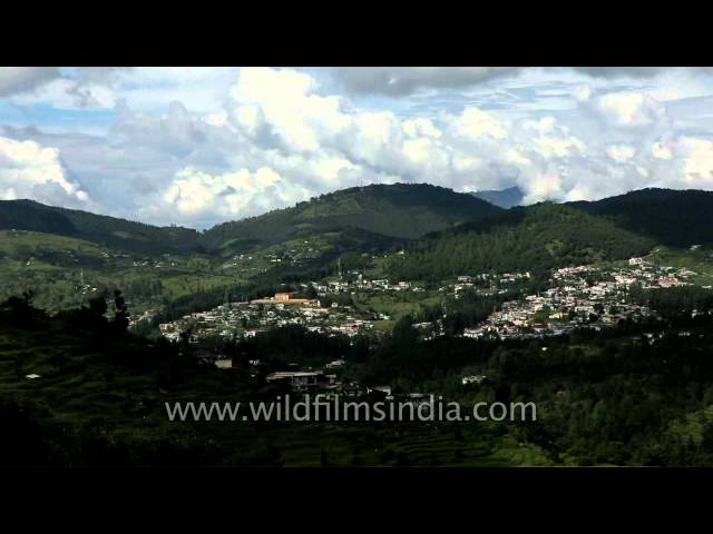 View of Lohaghat town of Champawat District, Uttarakhand Travel Video