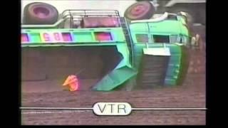 第一回・全日本ダンプカーレース(準決勝第2) / '85 Japan dump truck race ( Semi-final second race )