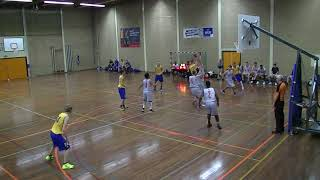 14 september 2019 Vlaardingen Captians MSE 1 vs Rivertrotters MSE 2  58-72 3rd period