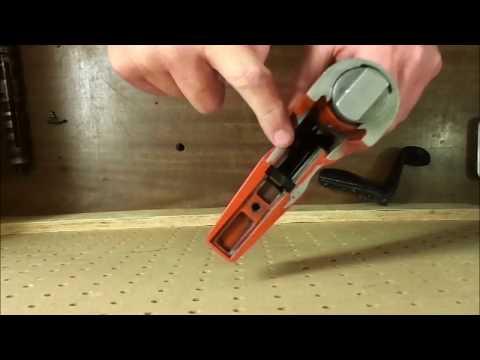 How To Take Apart A DX-350 (  Simpson PT-27 & Ramset Cobra) Main Body