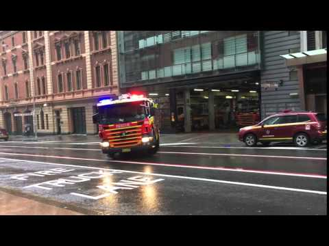 FRNSW City of Sydney 001 Rescue Pumper