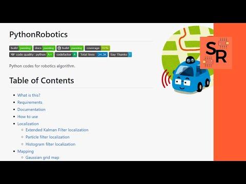 Really comprehensive Python Robotics Library  : Python