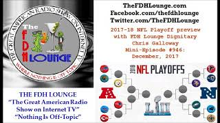 Mini-Episode #946 - January 2018 - 2017-18 NFL Playoff preview