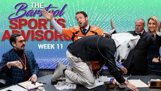 Barstool Sports Advisors - Week 11