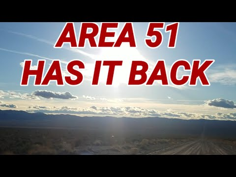 AREA 51 HAS IT BACK! ALL NIGHT ON GROOM LAKE ROAD.(FREEZING COLD) 2018