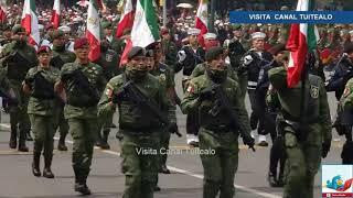 Desfile Militar 16 de Septiembre Día de la Independencia de México Zócalo CDMX 2018 Peña Nieto