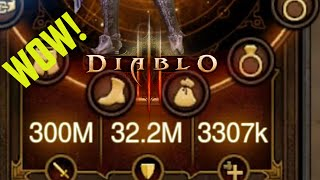 Diablo 3 HACKED GEAR Worth Over 300 Million Damage! FAST PARAGON LEVELING!
