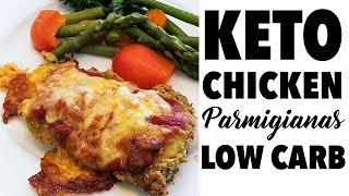 Keto / Low Carb  Chicken Parmigiana Recipe