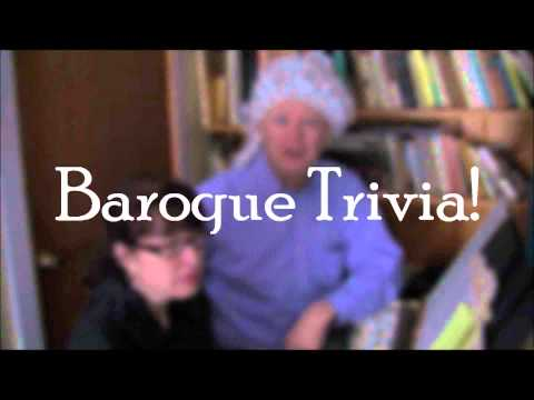 Baroque Trivia 2011 - Question 1