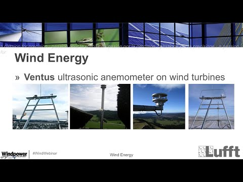 Lufft Webinar: Easy Change of Wind Sensors on Wind Turbines
