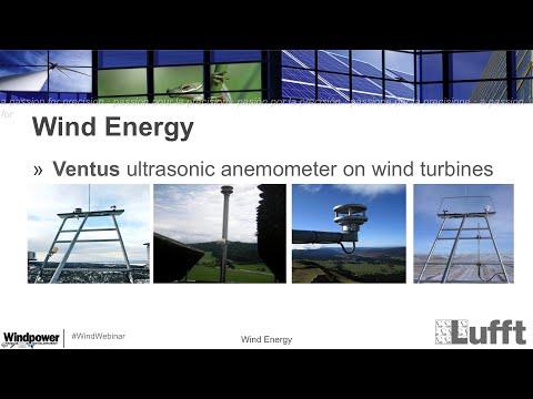 Lufft Webinar: Easy Change of Wind Sensors on Wind Turbines - Windpower - WindBridge