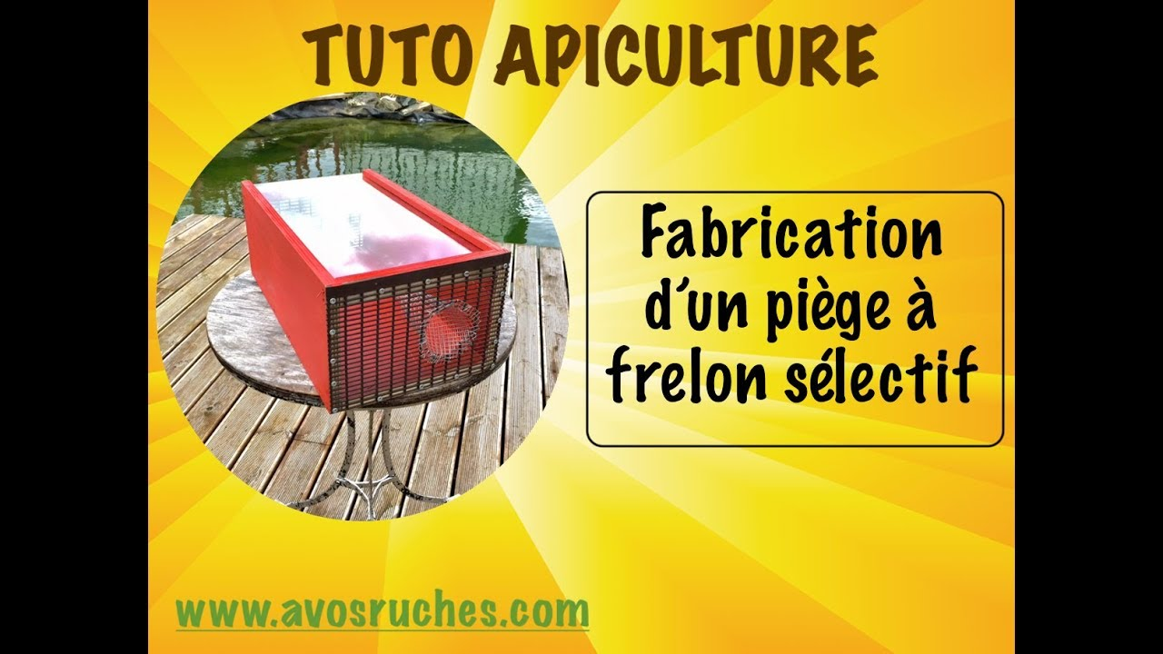 tuto apiculture le pi ge frelon s lectif youtube. Black Bedroom Furniture Sets. Home Design Ideas