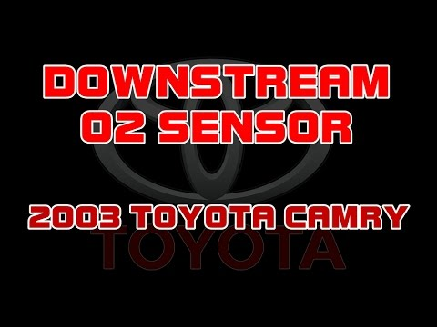 ⭐ 2003 Toyota Camry - 2.4 - Replacing The Downstream O2 Or Oxygen Sensor