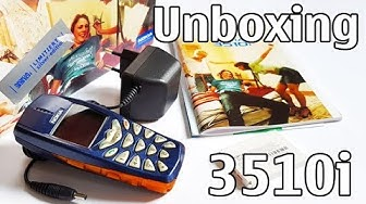 Nokia 3510i Unboxing 4K with all original accessories RH-9 review
