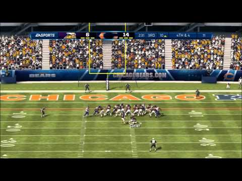 Madden 13: Minnesota Vikings vs. Chicago Bears - Flint Beastwood