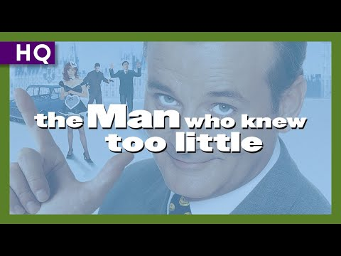 The Man Who Knew Too Little (1997) Trailer