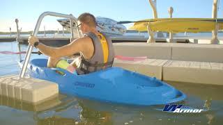 Wave Armor Kayak Launch System
