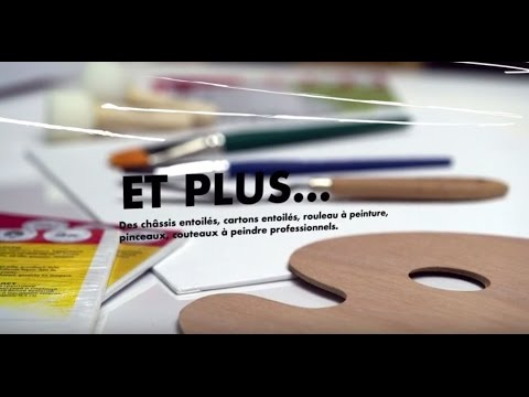 Marabu Gmbh artist acrylmarabu (imagefilm french version) - youtube