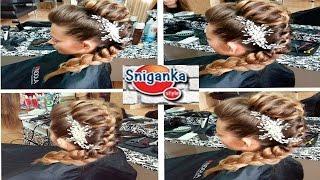 Прическа на длинные волосы. Hairstyle for long hair(Мой 2 КАНАЛ О МАНИКЮРЕ ___ https://www.youtube.com/channel/UCDyrToyCf2Xatn6m9sgOyDg Мои видео уроки научат вас делать совершенно неверо ..., 2015-09-09T05:13:48.000Z)