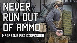 Never Run Out Of Ammo | Magazine Pez Dispenser | Tactical Rifleman