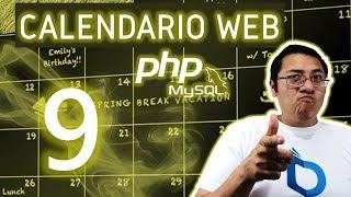 Calendario web con PHP y MySQL utilizando fullcalendar (Video 9  - Consulta de eventos)