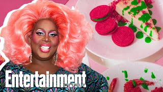 &#39RuPaul&#39s Drag Race&#39 Queen Latrice Royale Serves Chromatica Oreo Recipes  Entertainment Weekly