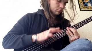 Solo de bajo-bass-bajo eléctrico-music-sound-video By Aleck Andrade.