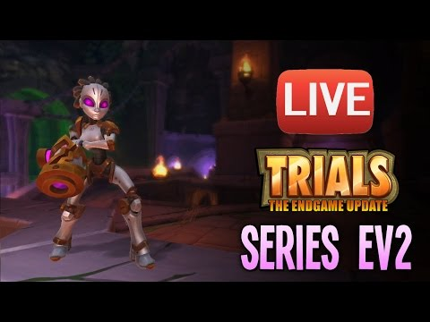 EV2 Chaos 7 Live Trials Grinder! Weapon Mans and Freeze Protons!