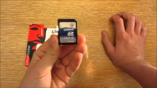 Kingston class 4 32GB SDHC card review