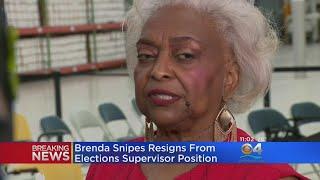 Broward Supervisor Of Elections Brenda Snipes Submits Resignation
