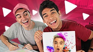 DESENHANDO YOUTUBERS !! ‹ AUTHENTIC › thumbnail