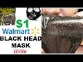 Blackhead Peel Off Mask Review | 7th Heaven Black Seaweed