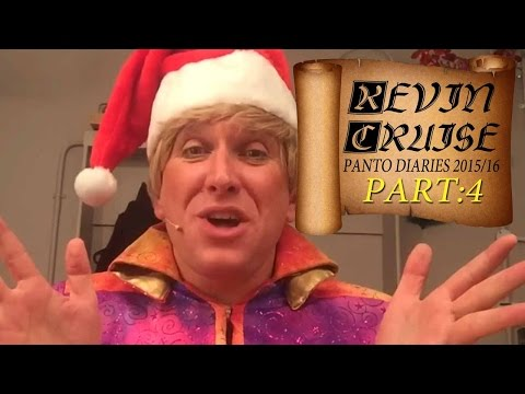 Kevin Cruise's Panto Diary 2015 (part4) MERRY CHRISTMAS From Cast & Crew