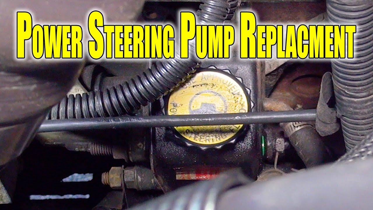 2002 Cummins Power Steering Pump Replacement Vacuum Pump Rebuild Day 01 Youtube