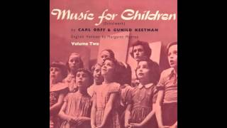 Carl Orff, Gunild Keetman, Margaret Murray - Children's Instrumental Ensemble - Five Ostinato Pieces