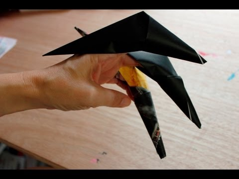 How To Make A Origami Claw Easy Accessory For Halloween Costumes
