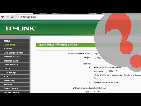 TP Link Wireless AC Router Configuration And Manual Setup, Archer Dual Band 2.4 And 5 Ghz