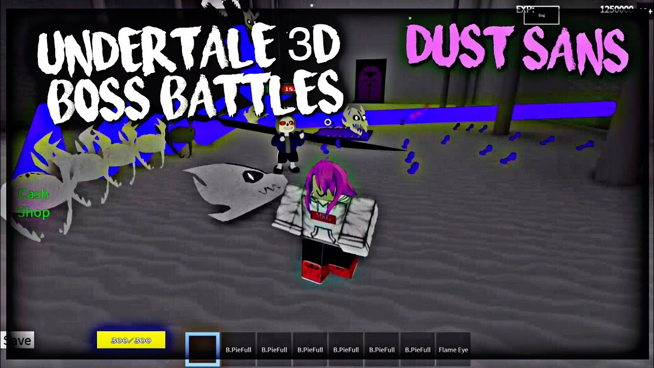 Roblox Undertale 3D Boss Battles: Dust Sans (D7 Solo)
