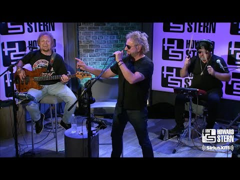 """Sammy Hagar & the Circle """"Why Can't This Be Love"""" on the Howard Stern Show"""