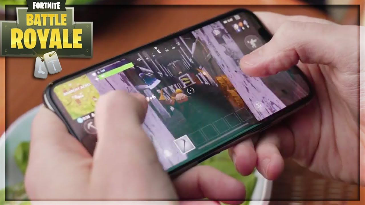 New Fortnite Mobile Gameplay Graphics Controls Fps Controller