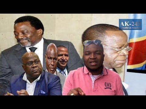 AK-243:Suspendu du FCC Bahati et 118 députés rejoignent CACH-Katumbi suspend Fayulu pour escroquerie