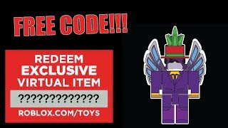 FREE ROBLOX TOY CODE - CRAZYBLOX TOY