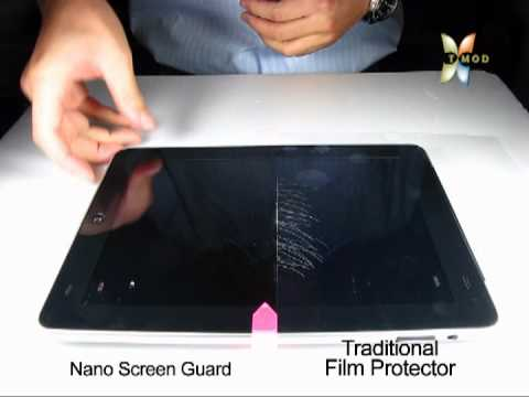 [T-MOD] Invisible Nanotechnology Screen Protector-Test Result