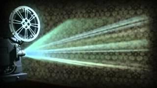 Футаж Кинокамера проектор ретро