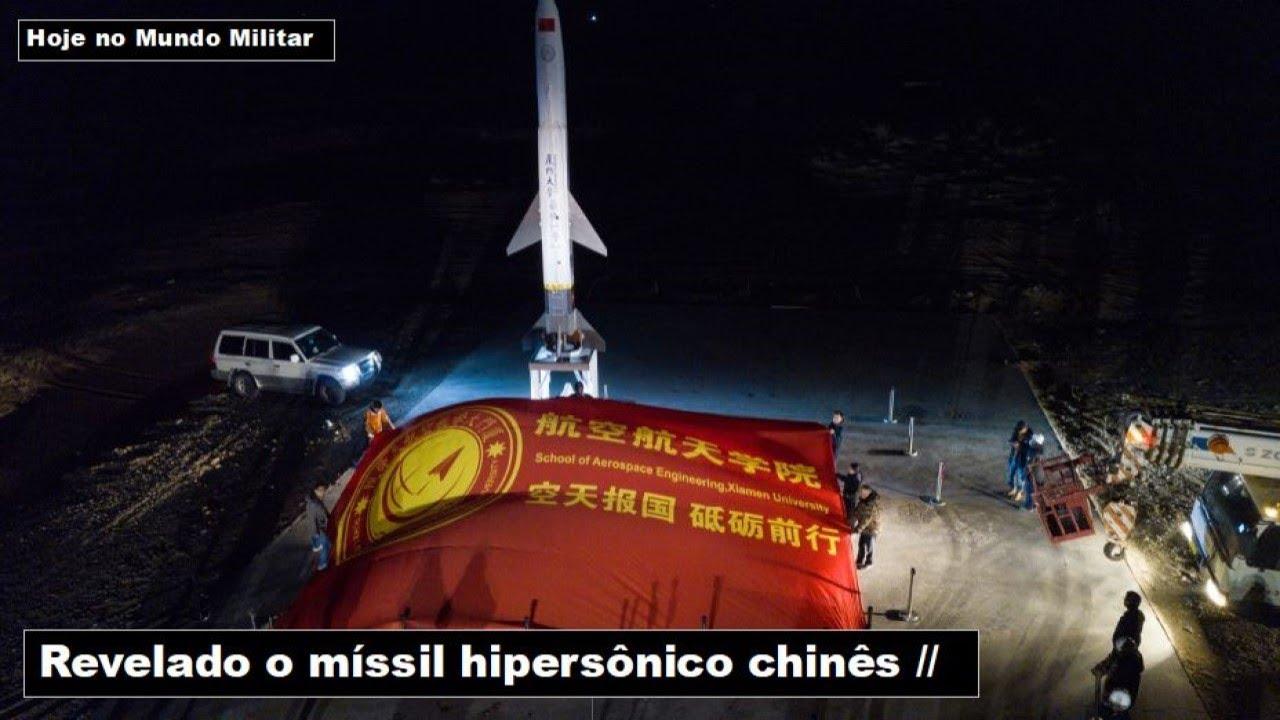 Revelado o míssil hipersônico chinês