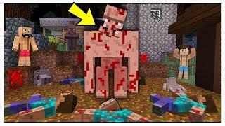 IL GOLEM CATTIVO UCCIDE TUTTO IL VILLAGGIO! - Minecraft ITA