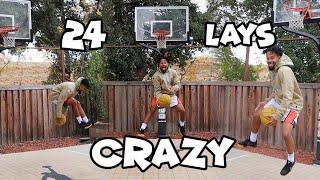 24 Crazy Layups For My 24th Birthday!