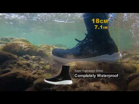 V-TEX Waterproof Shoes/ Exceed The Goal On Kickstarter/ The Ultimate Waterproof Vegan Nanotech Shoes